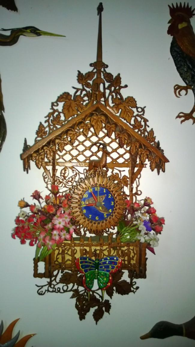 Orologio da muro con Stambecco