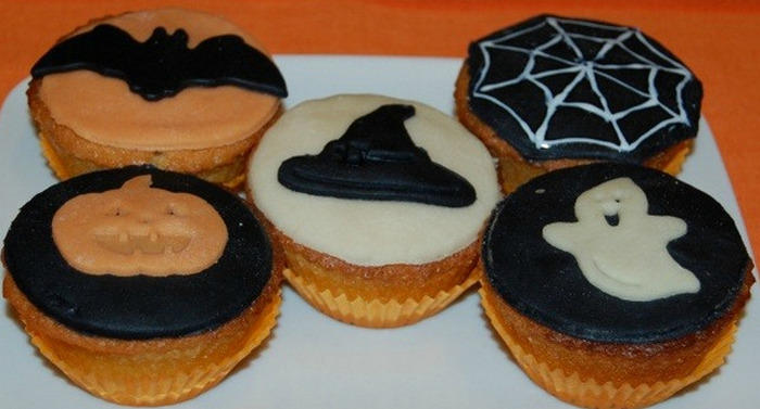 Decorazioni Muffin Halloween