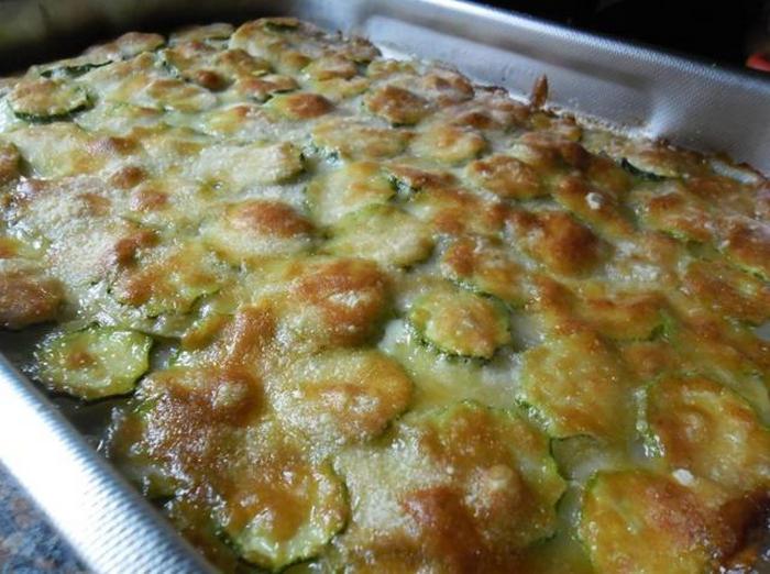 Sformato saporito di patate e zucchine