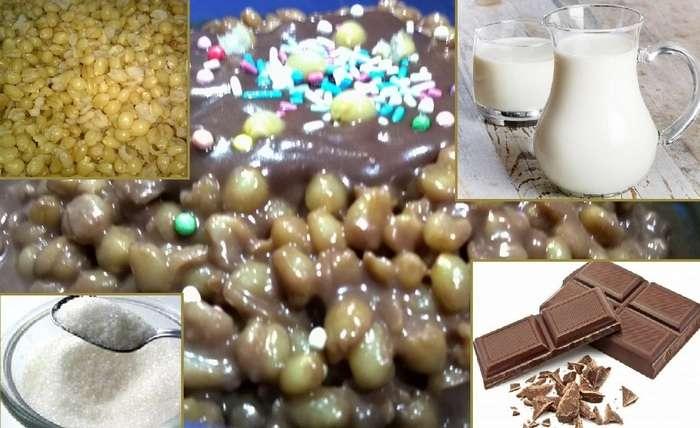 Ingredienti Cuccìa di Santa Lucia