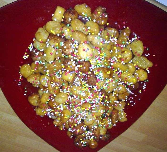 Struffoli, dolci di Natale