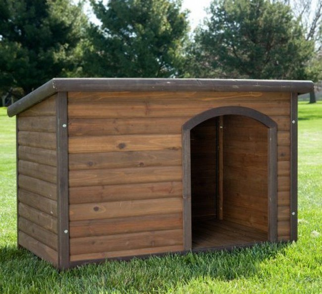 Cuccia per can in legno