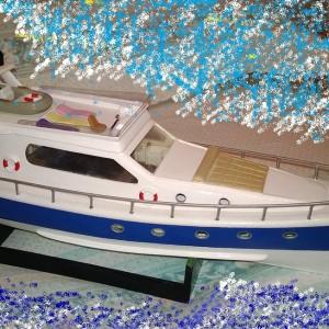 Yacht tradizionale di lusso
