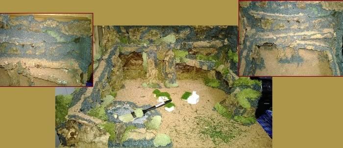 Presepe Napolenato copertura struttura